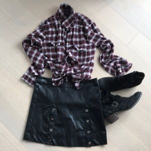 Paige flannel shirt